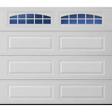 Amarr Stratford 2000 White Panel Garage Door (Multiple Options)