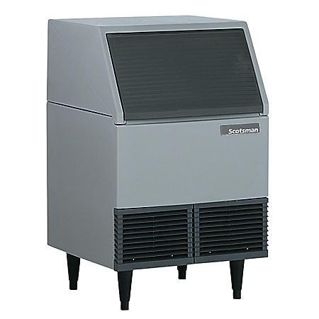 Scotsman 395 lbs. Flake Ice Machine - 85 lbs. Bin Capacity