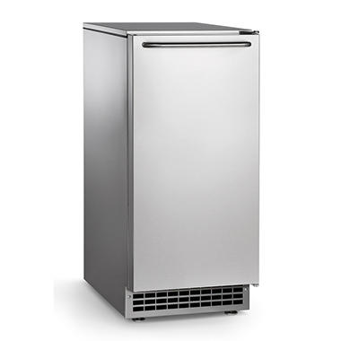 Scotsman 65 lbs. Self-Contained Undercounter Cube Ice Machine - 26 lbs. Bin Capacity