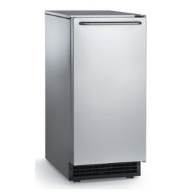 Scotsman 65 lbs. Self-Contained Under-Counter Ice Machine - Built-In Drain Pump - 26 lbs. Bin Capacity