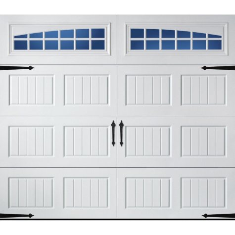 Amarr Oak Summit 3000 White Panel Garage Door (Multiple Options)