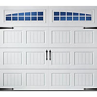 Amarr Oak Summit Garage Doors amarr oak summit 3000 white panel garage door (multiple options