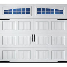 Amarr Oak Summit 2000 White Carraige House Garage Door (Multiple Options)
