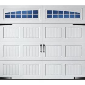 Amarr Oak Summit 1000 White Panel Garage Door (Multiple Options)