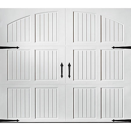 Amarr Classica 3000 White Carriage House Garage Door (Multiple Options)