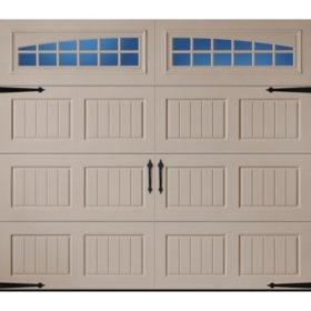 Amarr Oak Summit 3000 Sandtone Panel Garage Door (Multiple Options)