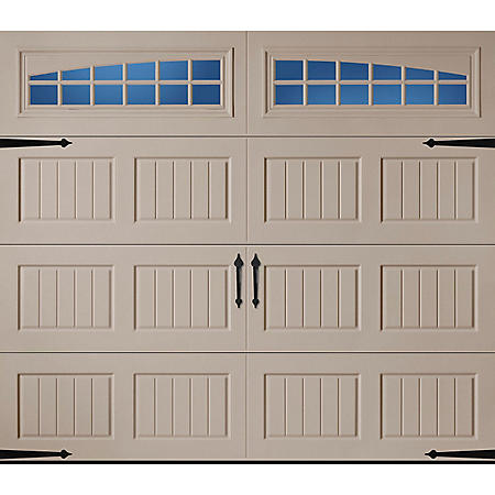Amarr Oak Summit 2000 Sandtone Carriage House Garage Door (Multiple Options)