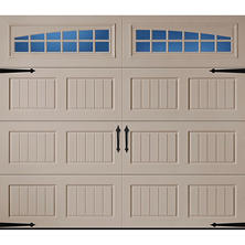 Amarr Oak Summit 2000 Sandtone Carraige House Garage Door (Multiple Options)
