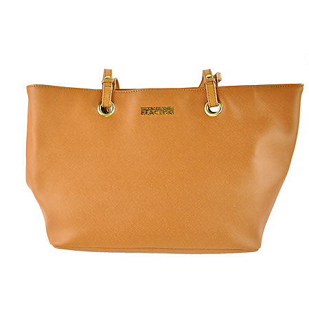 DOUBLE HANDLE TOTE TAN