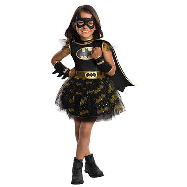 Batgirl Tutu Dress Halloween Costume Small