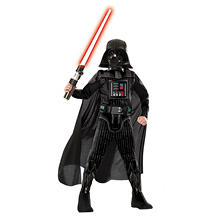Classic Darth Vader Muscle-Chest Halloween Costume Medium