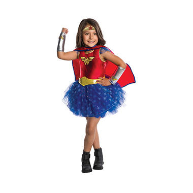 Wonder Woman Tutu Dress Halloween Costume