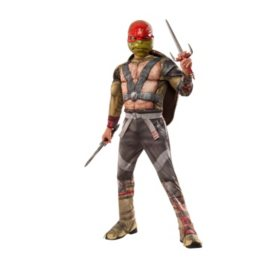 Teenage Mutant Ninja Turtle Raphael Movie 2 Halloween Costume