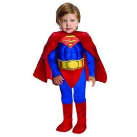 classic superman toddler halloween costume