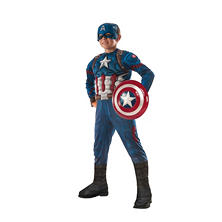 Civil War Captain America Muscle-Chest Halloween Costume Medium