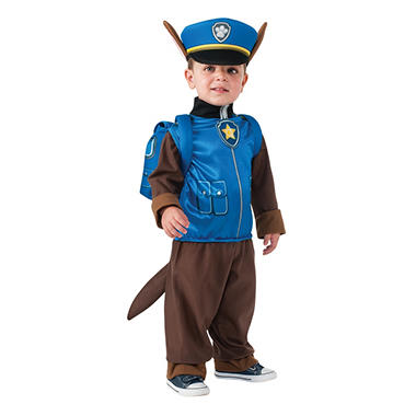 Paw Patrol Chase Toddler Halloween Costume - Sam's Club