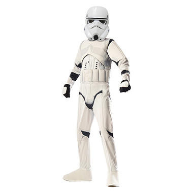 Classic Storm Trooper Muscle-Chest Halloween Costume