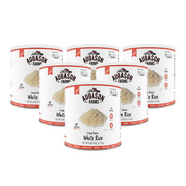 Augason Farms Long Grain White Rice (6 pk.)