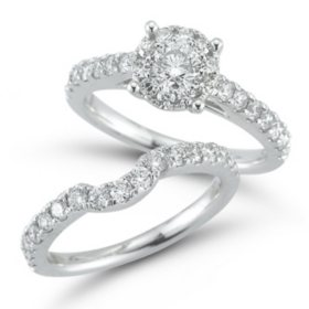 1.50 CT. T.W. Unity Diamond Engagement Set I, I1