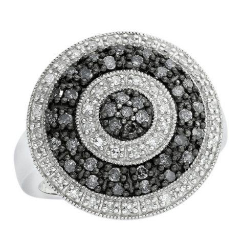 0.63 ct. t.w. Silvermist Wheel Ring in Sterling Silver