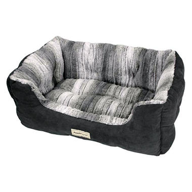 DreamersDelight Pet Bed - Gray