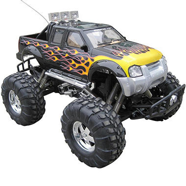 XQ GIANT 1:6 Scale Radio Control Black Monster Truck