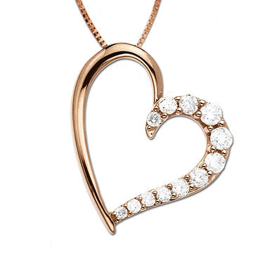 .25 ct. t.w. Diamond Heart Pendant