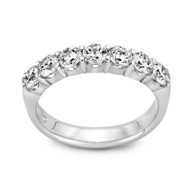 0.25 CT. T.W. 7 Round Diamond Band