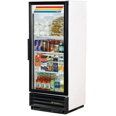 True 1 Door Swing Glass Merchandiser   12 Cu. Ft.