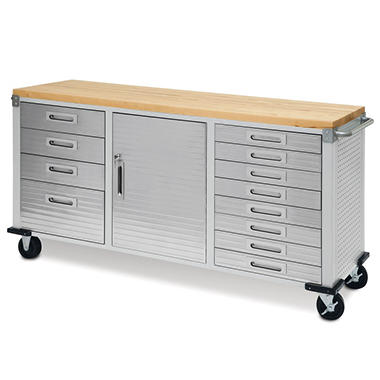 Seville Classics Ultrahd 12 Drawer Rolling Workbench Sam
