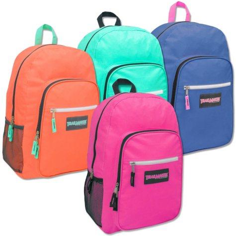 """Trailmaker 19"""" Backpacks, Assorted Girl Colors, 24pk. Case"""