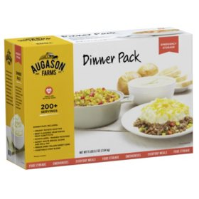 Augason Farms Dinner Kit (#10 cans, 6 pk.)