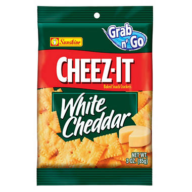 Cheez-It White Cheddar (3 oz. bag, 12 ct.)