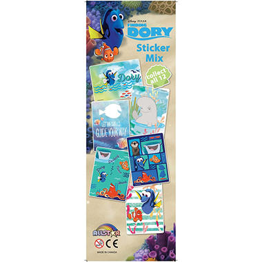 Disney's Finding Dory Vending Sticker Mix (300 ct.)