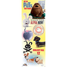 The Secret Life Of Pets Vending Tattoos (300 ct.)
