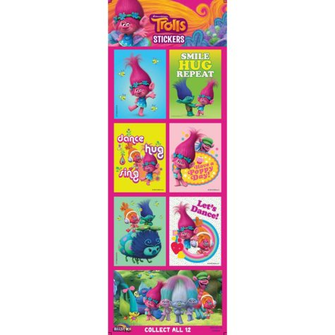 Trolls Vending Stickers (300 ct.)
