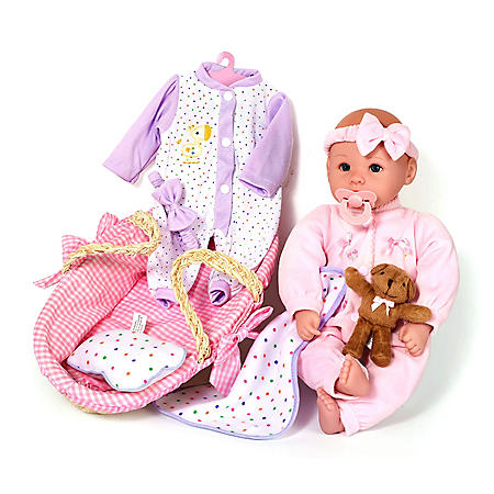 Baby Allie Deluxe Dress & Playset with Bear