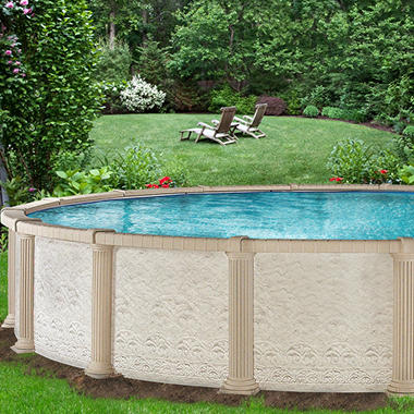 Everlast™ Colonnade Round Pool Pkg - 27' x 54'