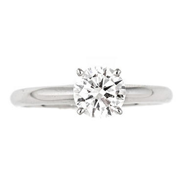 0.95 ct. Regal Diamond Solitaire Ring in 14K White Gold (I, SI2)