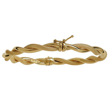 bracelets link j double for id sale master jewelry at gubelin bracelet gold cable twisted