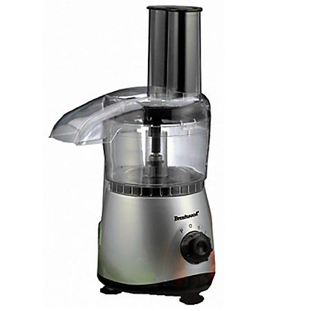 Food Processor - Stainless - 4 pk.