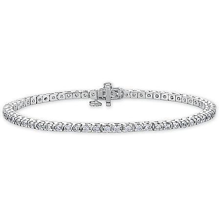 2 ct. t.w. Diamond Tennis Bracelet in 14K Gold (H-I, I1)