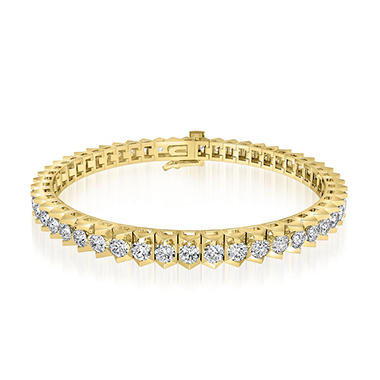 5 ct. t.w. Diamond Tennis Bracelet in 14K Yellow Gold (H-I, I1)