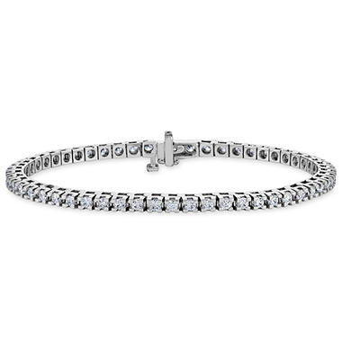 2.95 CT. T.W. Diamond Tennis Bracelet in 14K Gold (H-I, I1)