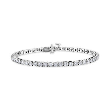 4 CT. T.W. Diamond Tennis Bracelet in 14K Gold (H-I, I1)