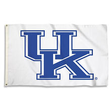 NCAA University of Kentucky Wildcats 3' x 5' Flag with Pole Mount Kit