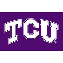 NCAA Texas Christian University Frogs 3' x 5' Flag with Pole Mount Kit