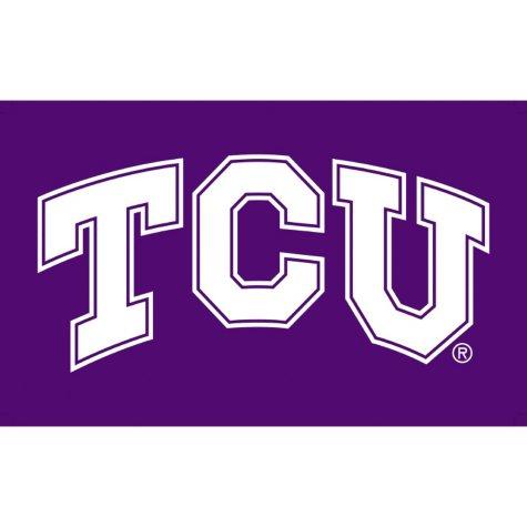 NCAA Texas Christian University Frogs 3' x 5' Flag with Pole Mount Kit