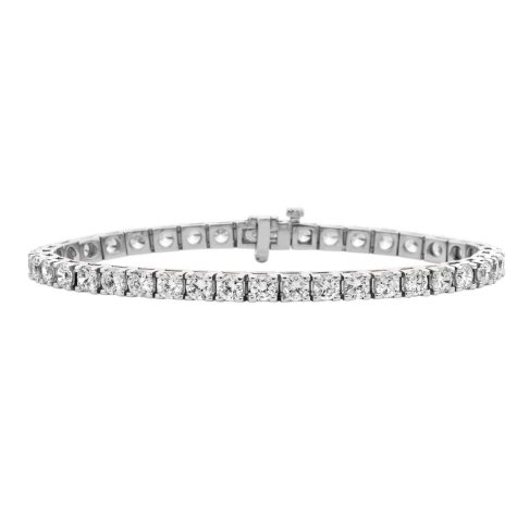 16.07 CT. T.W. Diamond Tennis Bracelet in 14K Gold (H-I, I1)
