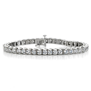 4.57 CT. T.W. Diamond Tennis Bracelet in 14K Gold (H-I, I1)